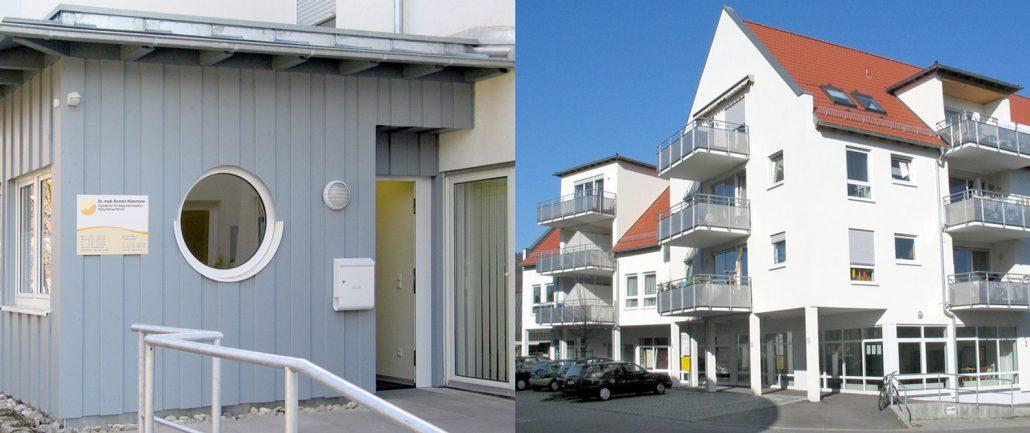 Artzpraxis in dre Gartenstraße 17 in Urbach